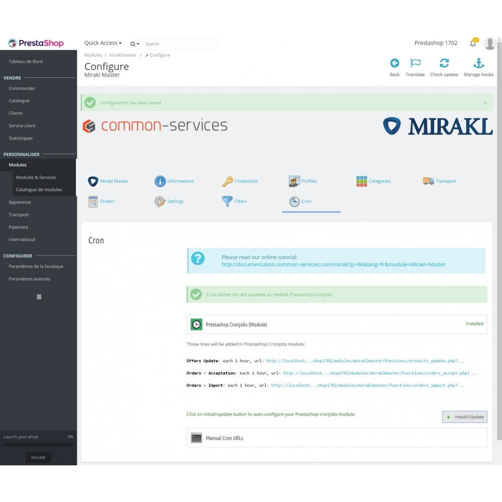 module - Revenda (marketplace) - Mirakl - multi-marketplaces connector - 8