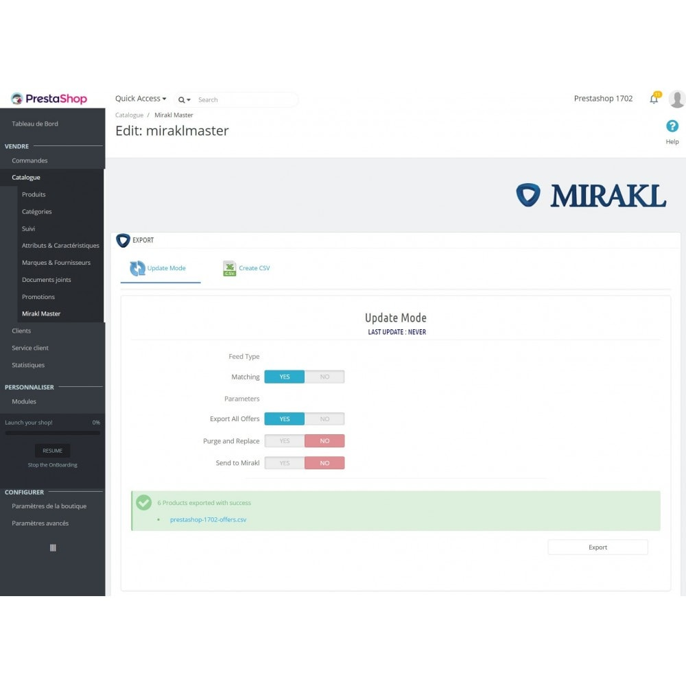 module - Traffic & Marketplaces - Mirakl - multi-marketplaces connector - 9