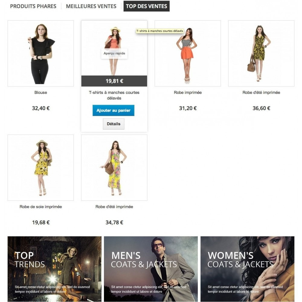 module - Products on Homepage - RM Bestsellers by Category - 3