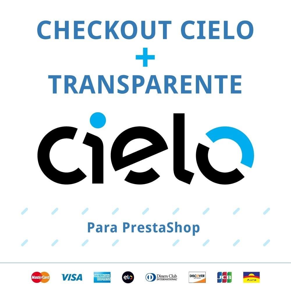 module - Pagamento por cartão ou por carteira - Checkout Cielo Transparente e Integrado - 1