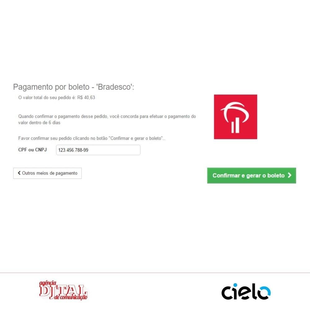 module - Pagamento por cartão ou por carteira - Checkout Cielo Transparente e Integrado - 4