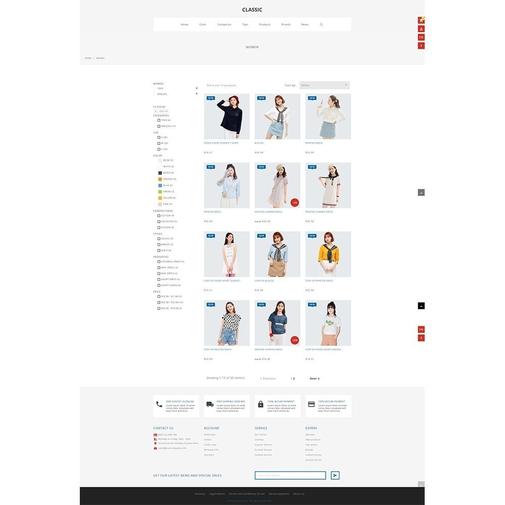theme - Fashion & Shoes - Monura Clothing Store - 3