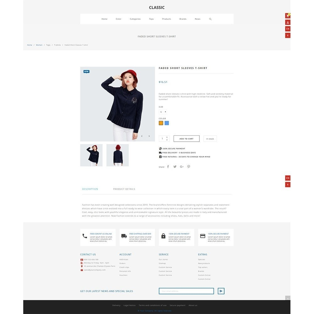 theme - Mode & Schoenen - Monura Clothing Store - 4