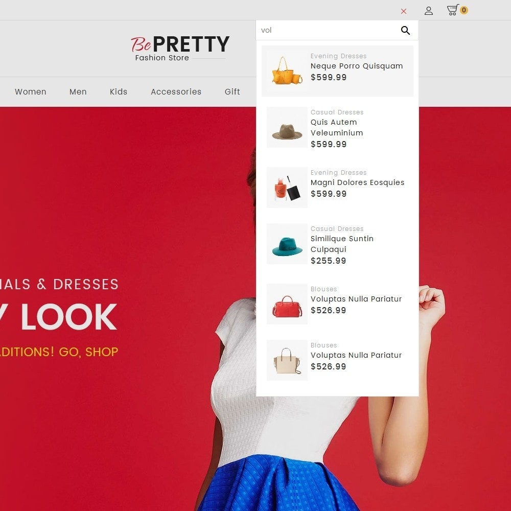 theme - Fashion & Shoes - BePretty Fashion Store - 11