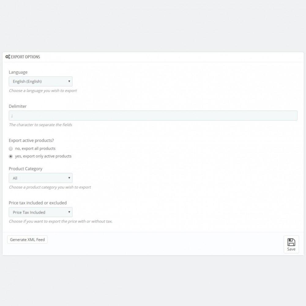 module - Revenda (marketplace) - Marktplaats.nl Connector - XML Product feed - 3