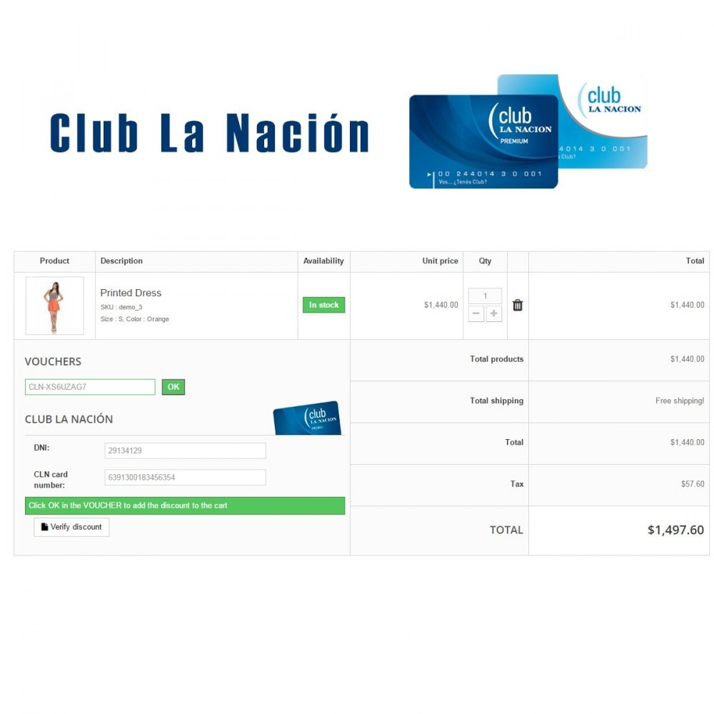 module - Referral & Loyalty Programs - Club La Nación - 1