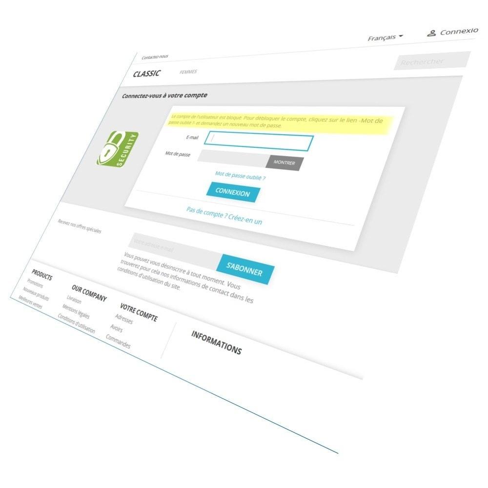 module - Sécurité & Accès - Protection renforcée des comptes clients - 1