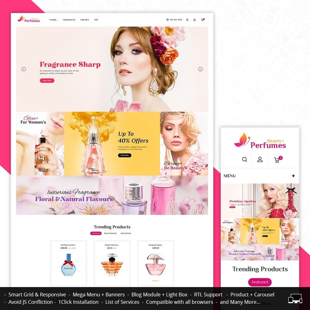 theme - Salute & Bellezza - Beauty Perfume Store - 1