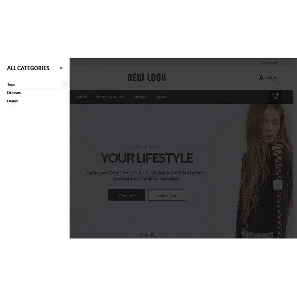 theme - Moda & Calzature - New look  Fashion Store - 5