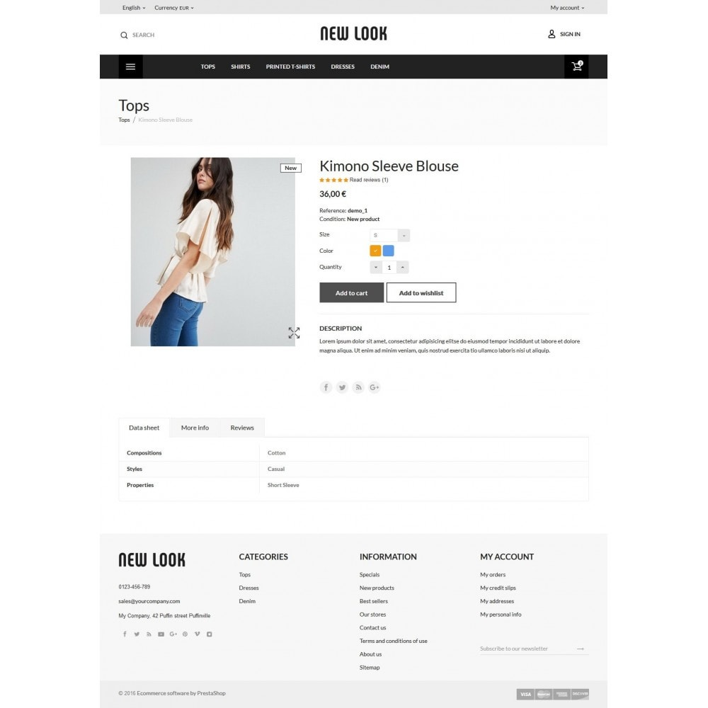 theme - Mode & Schoenen - New look  Fashion Store - 8