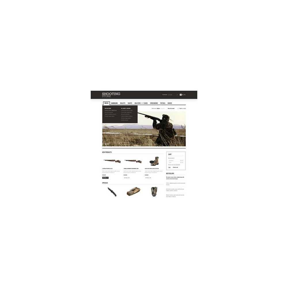 theme - Thèmes PrestaShop - Shooting Store - 5