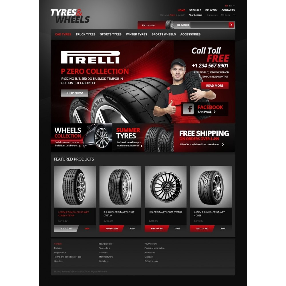 theme - Auto & Moto - Footwear for Your Car - 4