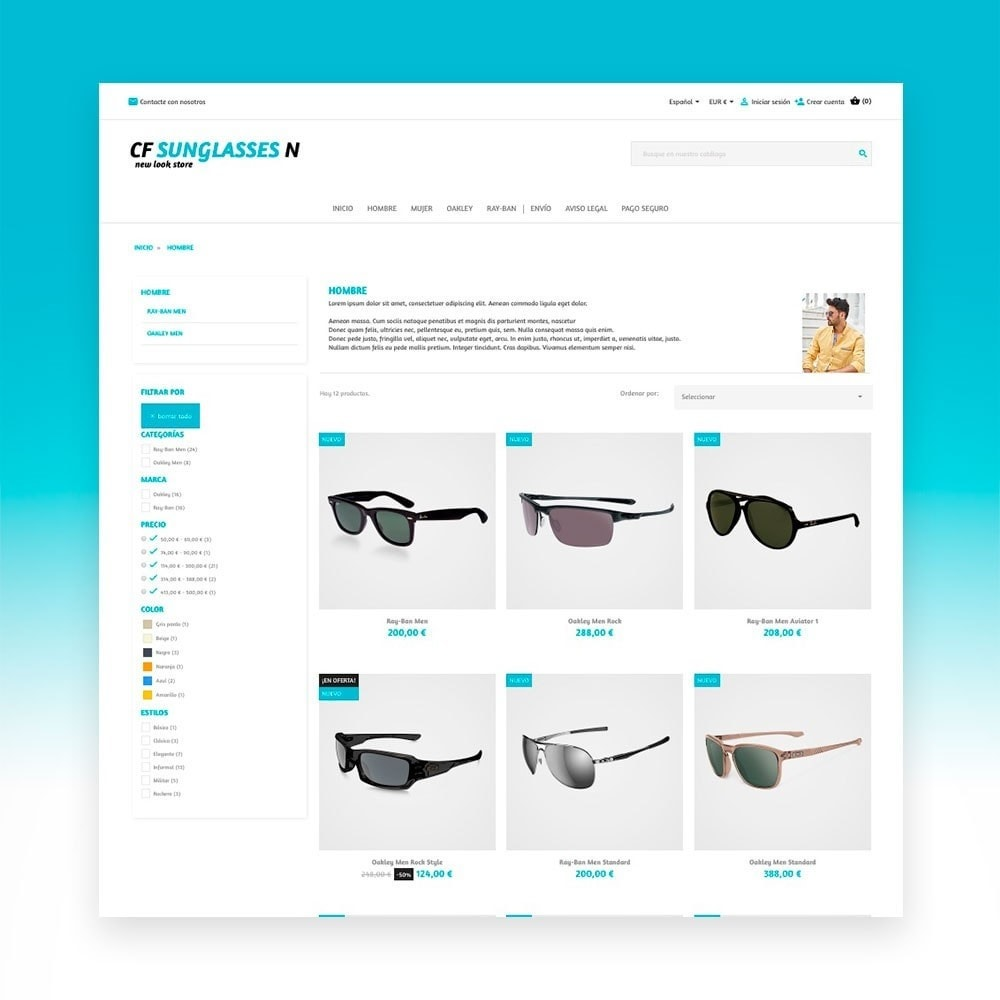theme - Moda y Calzado - CF Sunglasses N - 5
