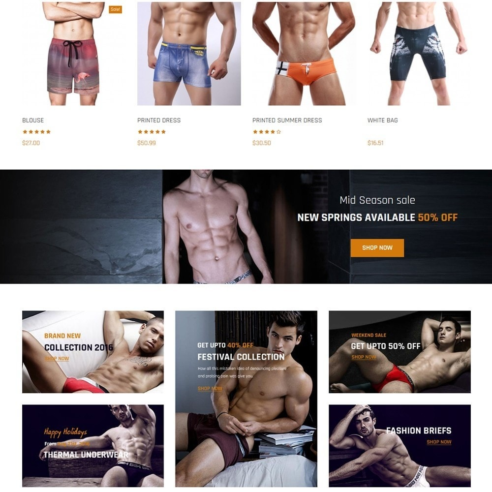 theme - Lingerie & Adult - Nocommando Men's Underwear - 3
