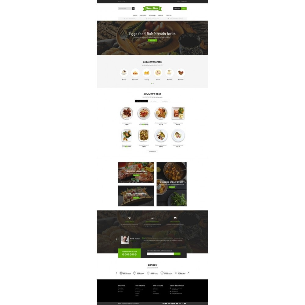 theme - Lebensmittel & Restaurants - Best Real Food Store - 2