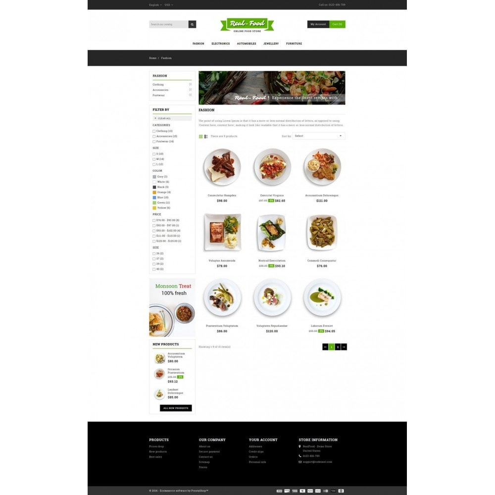 theme - Lebensmittel & Restaurants - Best Real Food Store - 3