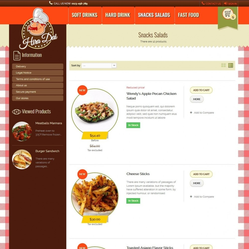 theme - Alimentos & Restaurantes - hiradai - 4