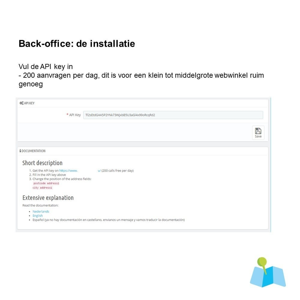 module - Registratie en Proces van bestellingen - Auto Adres Aanvullen o.b.v. Postcode en Huisnummer - 3
