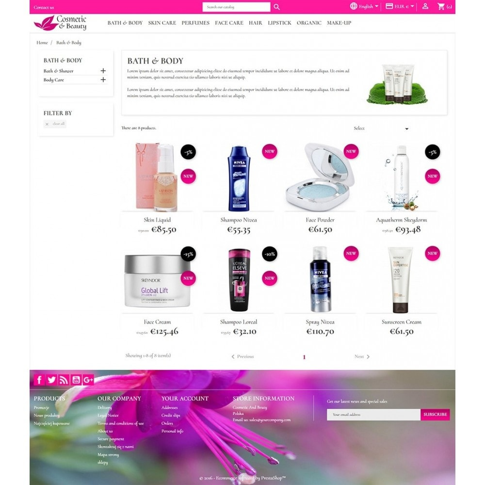 theme - Salute & Bellezza - Cosmetics & Beauty - 4