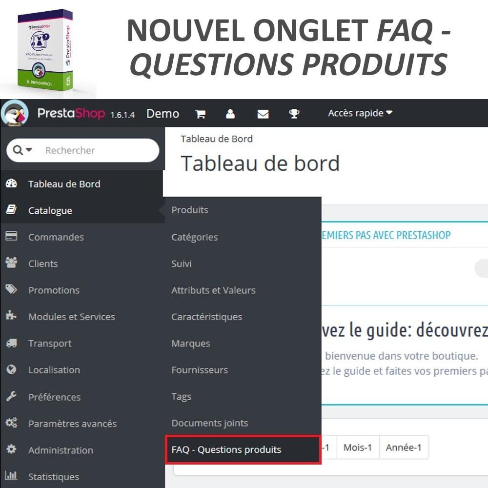 module - FAQ (questions fréquentes) - FAQ Fiches Produits - Foire aux questions fréquentes - 9