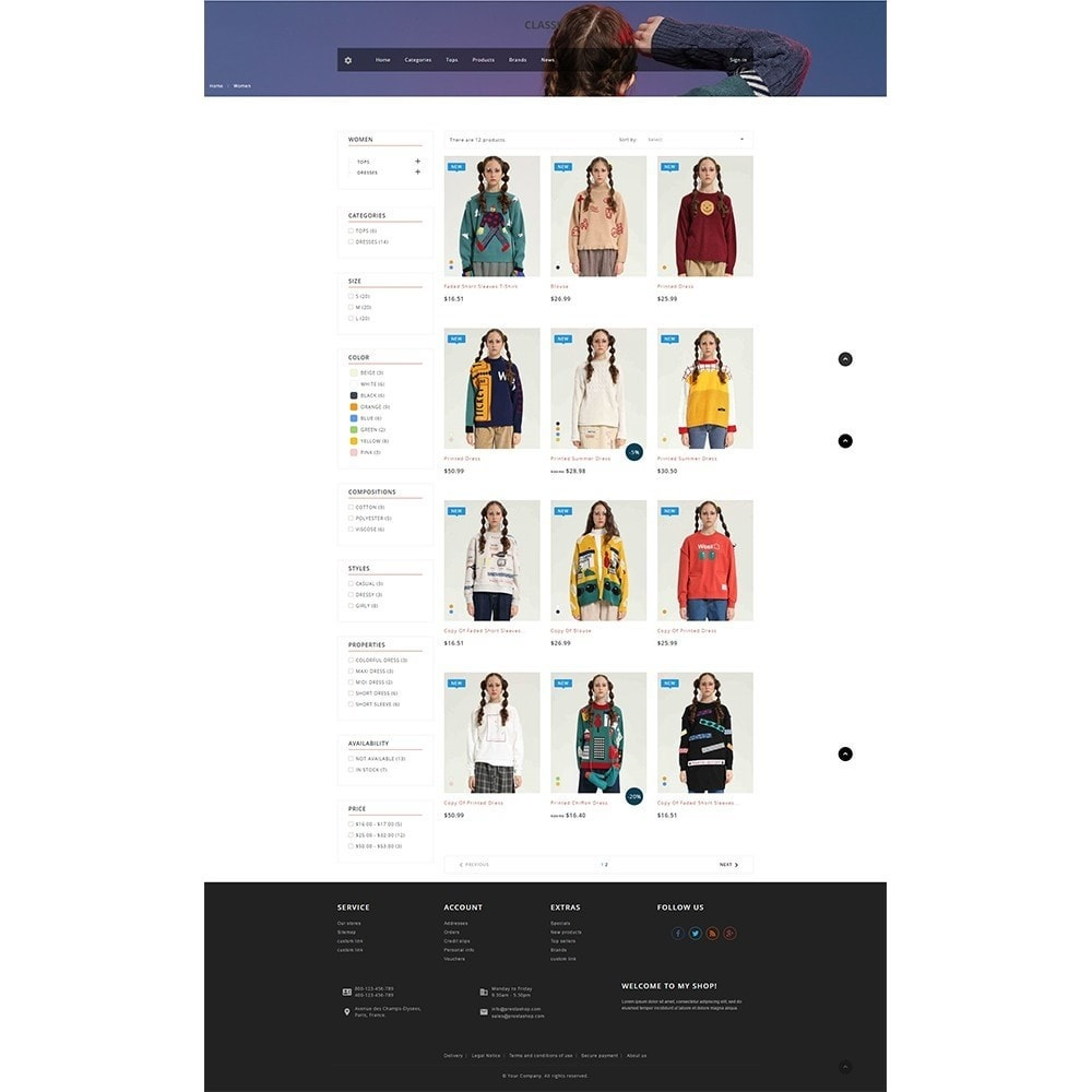 theme - Moda & Calzature - Ficus Clothing Store - 4