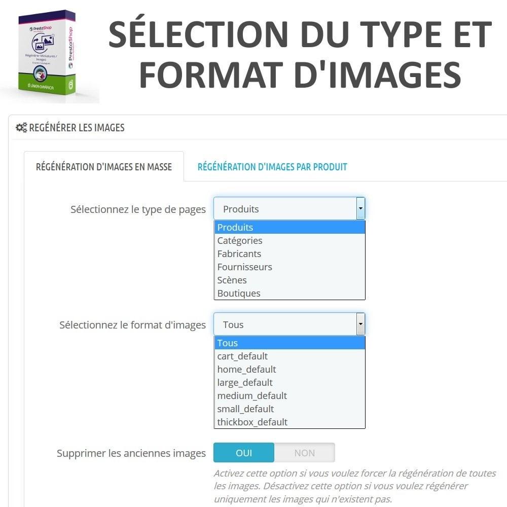 module - Edition rapide & Edition de masse - Régénérer Miniatures / Images pour Grands Catalogues - 3