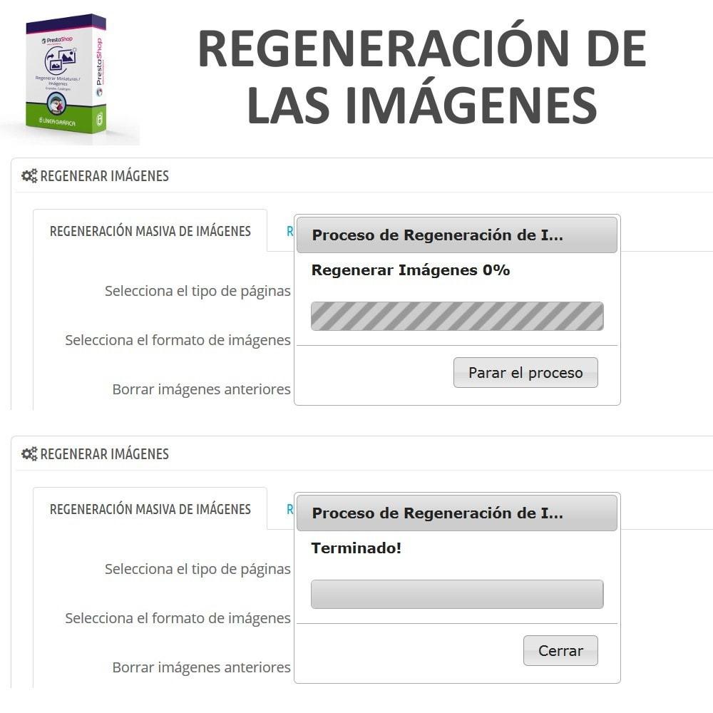 module - Edición Rápida y Masiva - Regenerar Miniaturas / Imágenes para Grandes Catálogos - 4