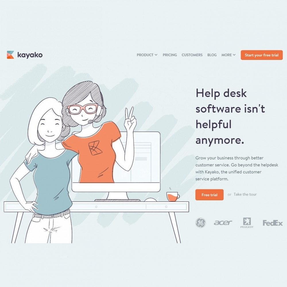 module - Supporto & Chat online - Kayako Help Desk Integration - 3