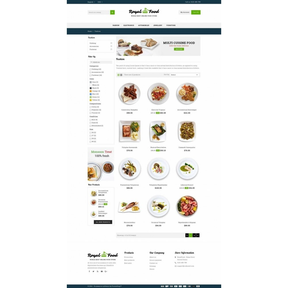 theme - Eten & Restaurant - Food and Restaurant Store - 3