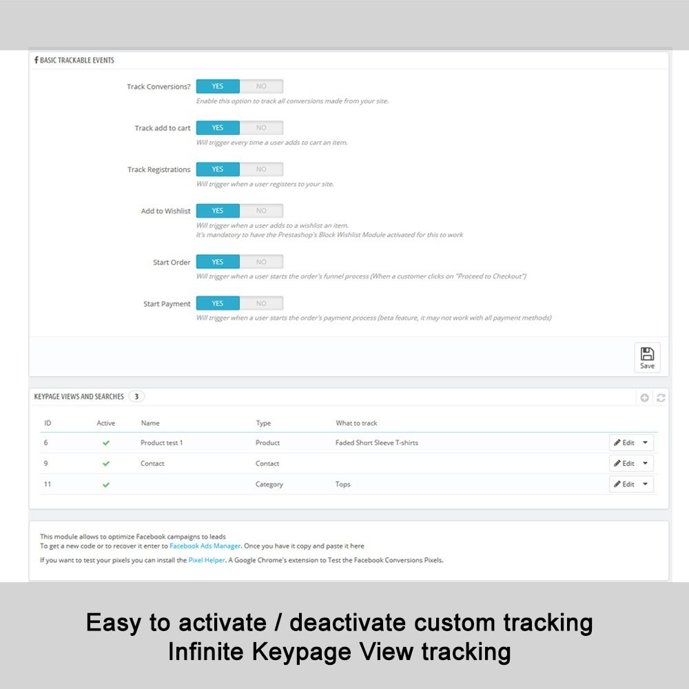 pack - Remarketing & Shopping Cart Abandonment - Dynamic Ads: All Events + Product Feeds - 4