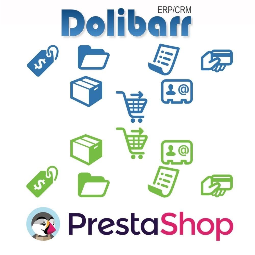 module - Соединение с внешней программой (CRM, ERP...) - Dolibarr ERP/CRM synchronization to Prestashop - 1