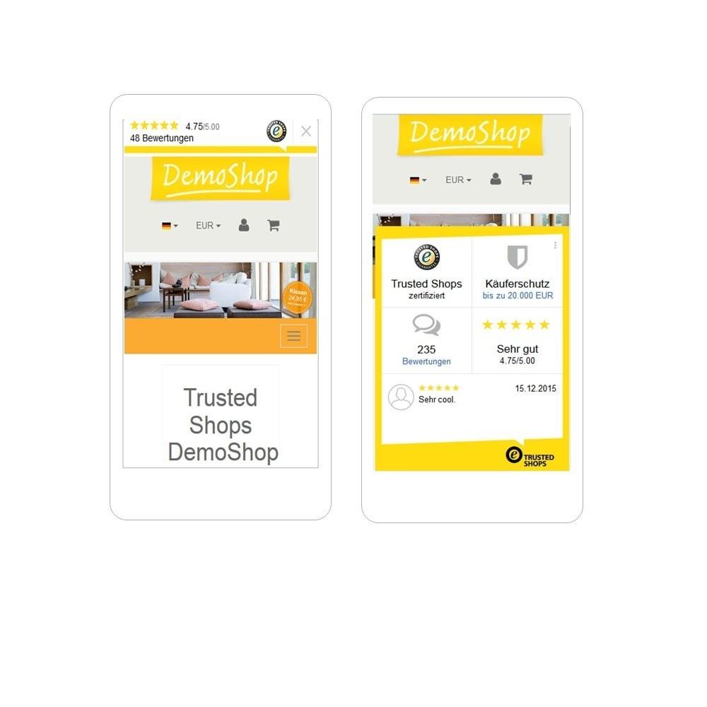module - Kundenbewertungen - Trusted Shops Reviews Toolkit - 5