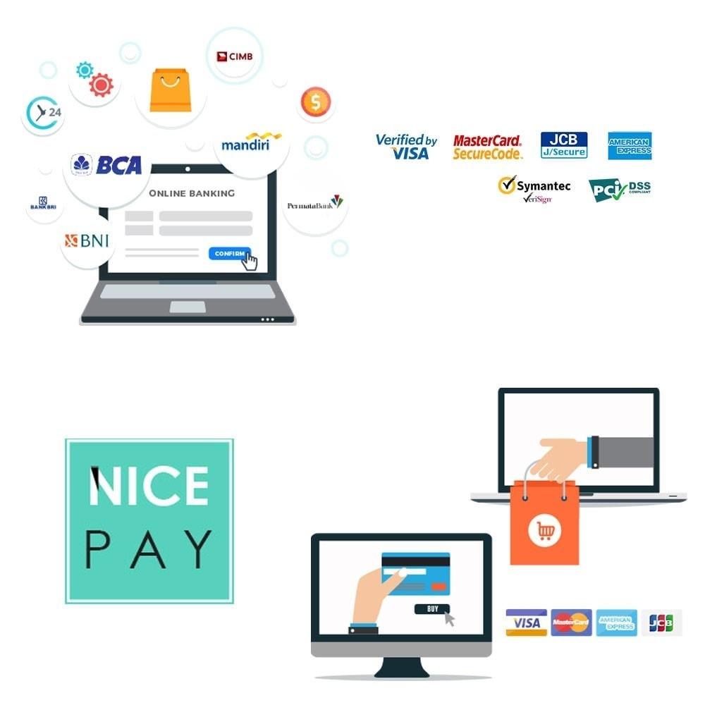 module - Pagamento con Carta di Credito o Wallet - Nicepay - 1