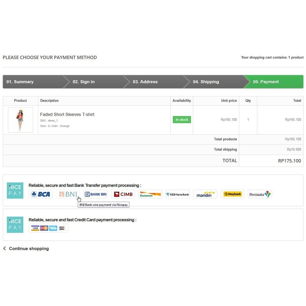 module - Оплата банковской картой или с помощью электронного кошелька - Nicepay - 7