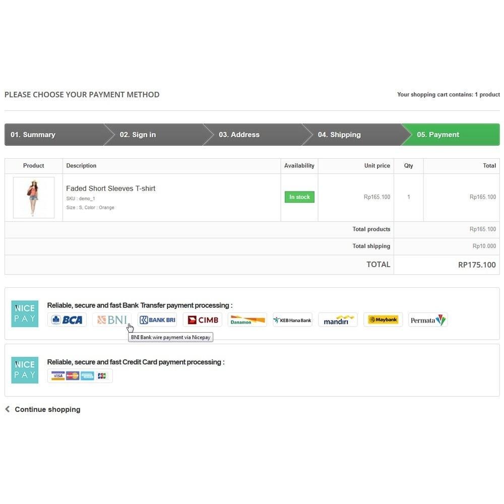 module - Pagamento con Carta di Credito o Wallet - Nicepay - 7