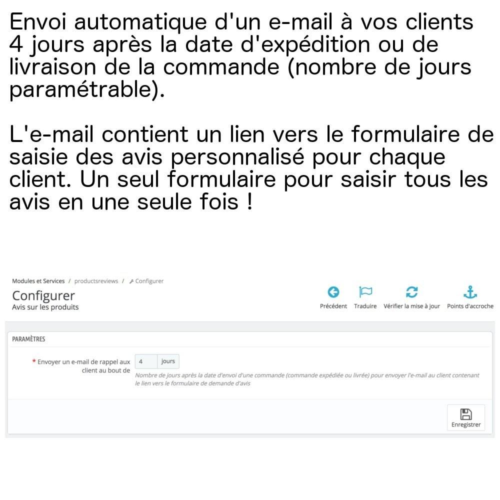 module - Avis clients - Avis produits sur une seule page (+ envoi e-mails) ! - 3