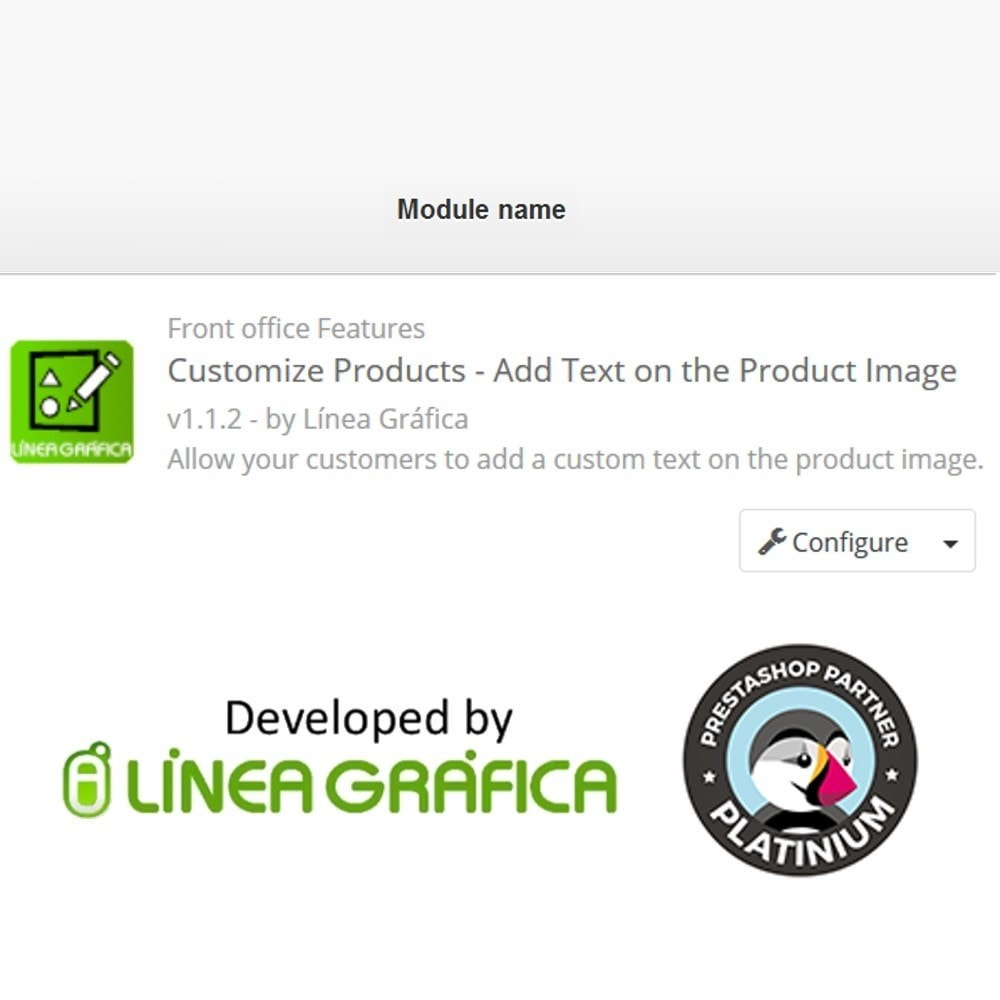 module - Versies & Personalisering van producten - Product Customization - Add Text over the Product Image - 10