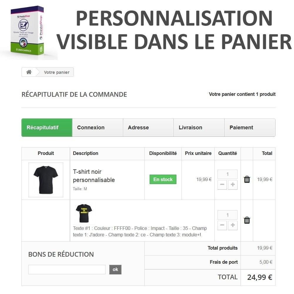 module - Déclinaisons & Personnalisation de produits - Personnalisation Produit - Ajouter du Texte sur l'Image - 7