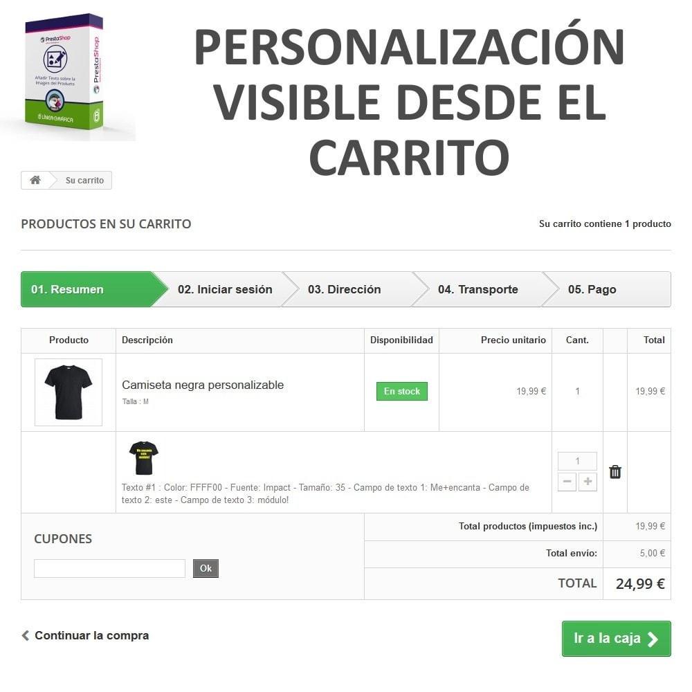 module - Combinaciones y Personalización de productos - Personalización Producto - Añadir Texto sobre Imagen - 7