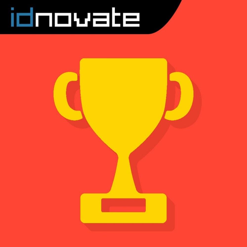 module - Fidelização & Apadrinhamento - Pontos de Fidelidade - Programa de pontos e recompensa - 1