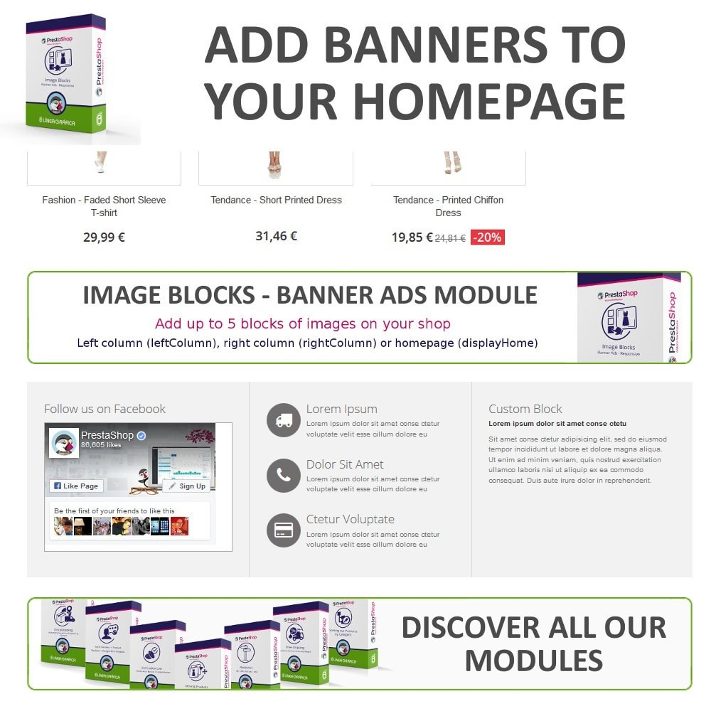 module - Blocos, Guias & Banners - Image Blocks - Banner Ads - 3