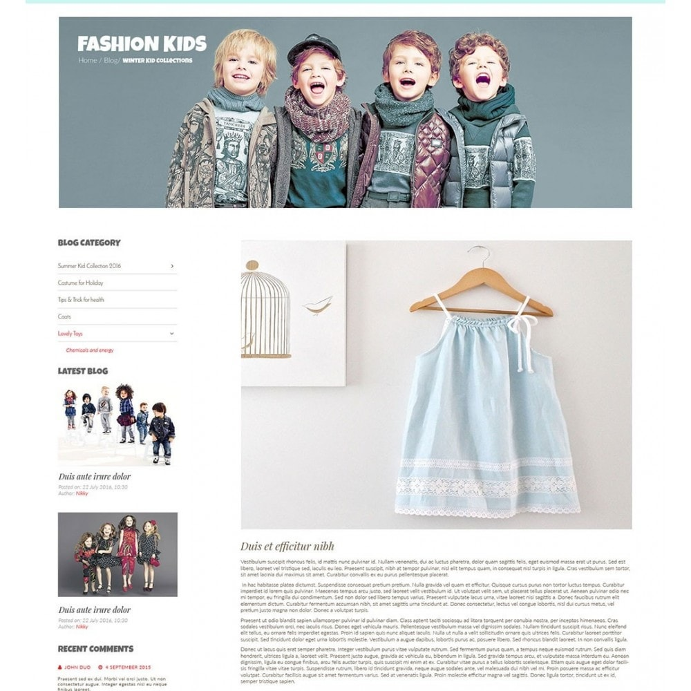 theme - Enfants & Jouets - Kiddies Store - 8