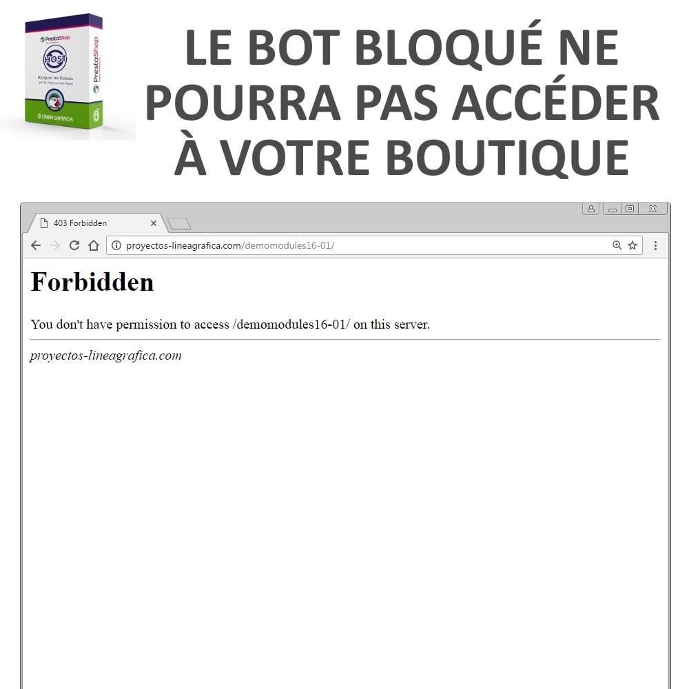 module - Sécurité & Accès - Bloquer Robots / Utilisateurs par IP, Pays, User-Agent - 5