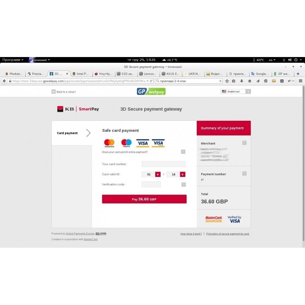 module - Pagamento por cartão ou por carteira - WmQPWebpay – QP webpay integration - 1