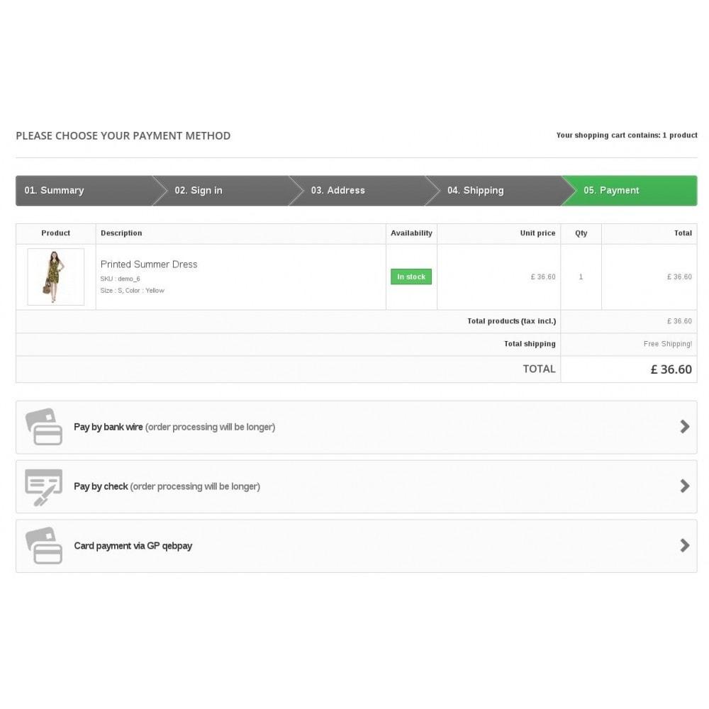module - Zahlung per Kreditkarte oder Wallet - WmQPWebpay – QP webpay integration - 2