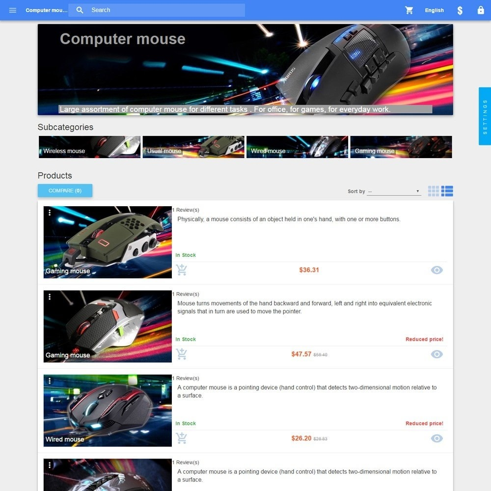 theme - Electronics & Computers - Material design Google - 5