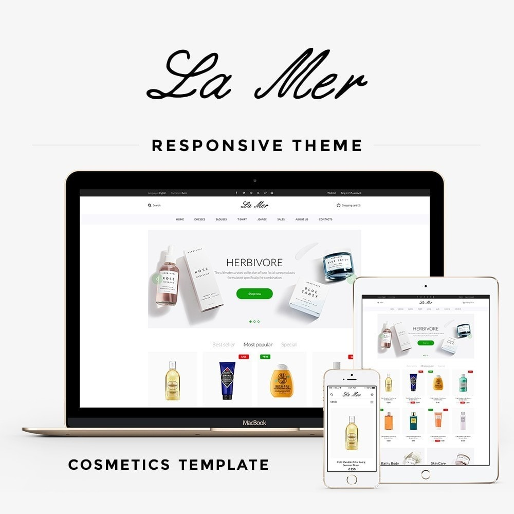 theme - Health & Beauty - La Mer Cosmetics - 1