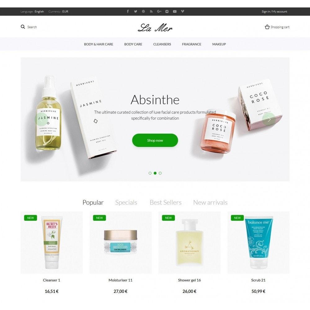 theme - Health & Beauty - La Mer Cosmetics - 2