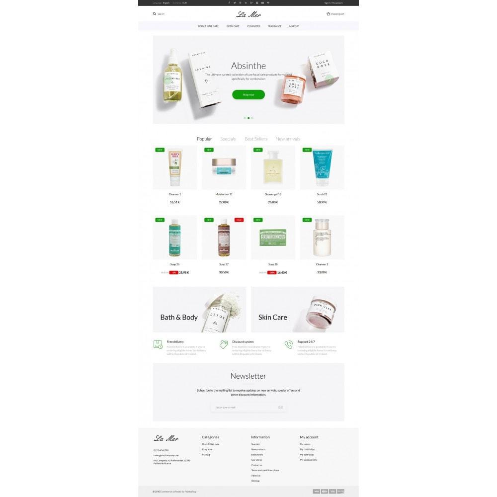 theme - Health & Beauty - La Mer Cosmetics - 9