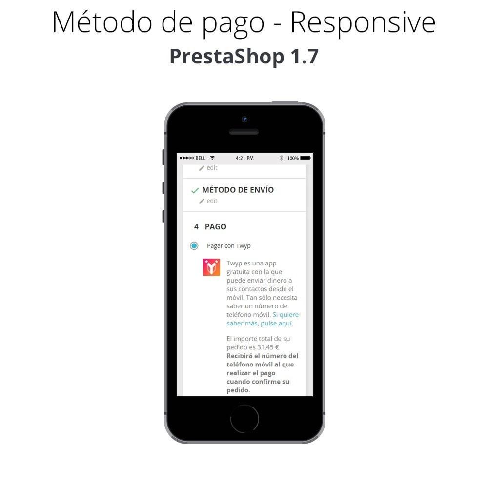module - Otros métodos de pago - Twyp - Pago con el móvil - 6
